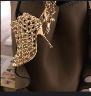 Gold high heel key chain for Sale in Hillsboro, OR
