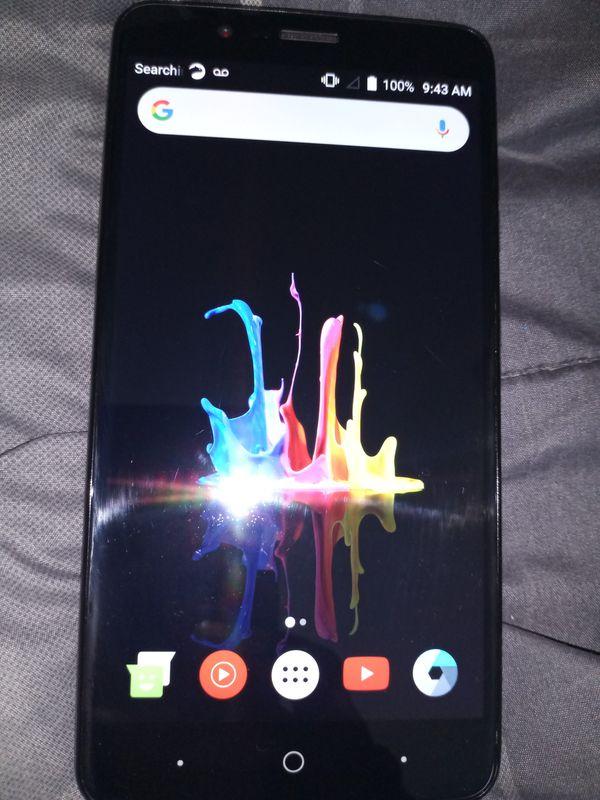 """Brand New ZTE ZBLADE MAX Smartphone."""