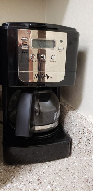 Mr. Coffee Coffeemaker | Moving SALE!! for Sale in Houston, TX