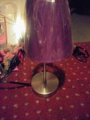 Desk lamp purple for Sale in Portsmouth, VA
