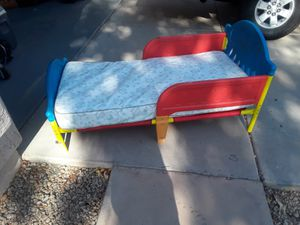 Kids bed with mattress for Sale in Gilbert, AZ