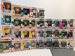 Funko Pop! Anime, Dragon Ball, My Hero Academia, Marvel, Game of Thrones, Ad Icons, Jordan!! for Sale in Austin, TX