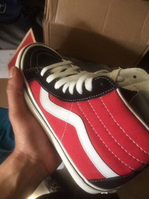 Vans SK8 Hi 38 DX red shoes for Sale in Seattle, WA
