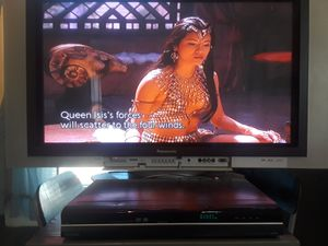 """37"""" TV and DVD player for Sale in Richmond, VA"""