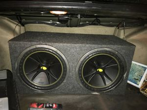 """Subwoofer w/Kicker 12"""" for Sale in Gilroy, CA"""