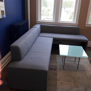 Sofa and glass Coffey table for Sale in Rye, NY