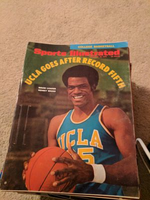 1970 sports illustrated Sidney Wicks UCLA for Sale in Corinth, ME