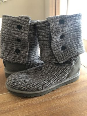 Women's Ugg Boots size 7 Classic Cardy Grey for Sale in Wesley Chapel, FL