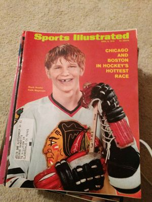 1970 sports illustrated Black Hawks Keith Magnuson for Sale in Corinth, ME