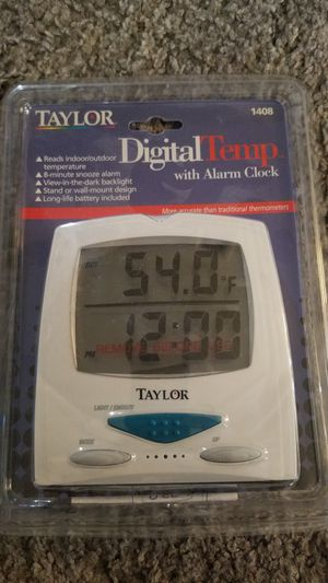 Brand new Digital Tempature with Alarm Clock for Sale in Monterey Park, CA