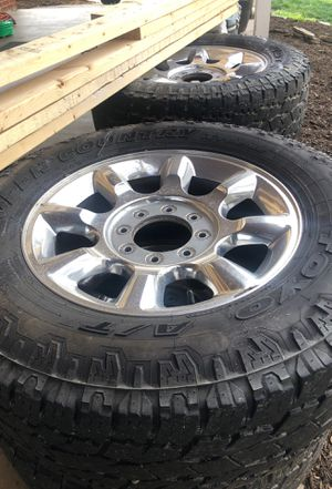 2015 f350 wheels and Toyo Open Country Extreme for Sale in Manassas, VA
