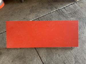 IKEA Red & Black Shelves with Brackets for Sale in Burbank, CA