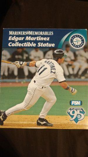 10th anniversary 1995 Mariners memorables Edgar Martinez collectible statue for Sale in Renton, WA