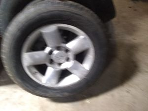 I have four 18in Nissan Titan truck tires for sale for Sale in Alexandria, LA