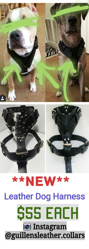 Leather harness for Sale in Chino, CA