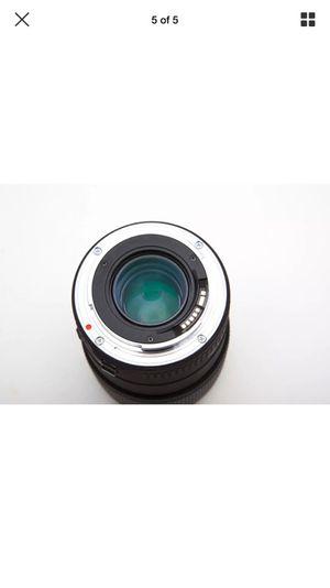 Sigma 105 macro lens canon mount for Sale in Boston, MA