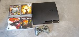 PS3 with games for Sale in Saginaw, TX