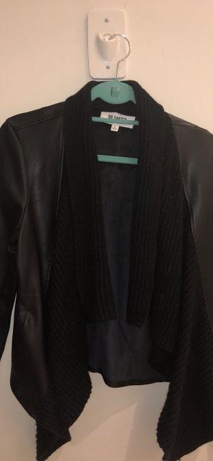 Black leather jacket size L for Sale in Nashville, TN