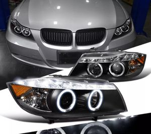 2006 - 08 BMW 3-Series LED Halo Projector headlights 💡🏎 for Sale in Montebello, CA