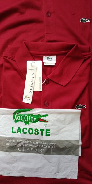 "New Beautiful Lacoste Shirt , men's size XL ( length 32"" x wide 24"" ) summer fabric style 2019 for Sale in Frederick, MD"