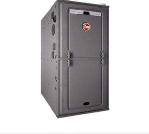 Rheem gas powered furnace for Sale in Oskaloosa, IA