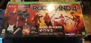 Red Rockband 4 complete with all the instruments and game for Sale in Baldwin Park, CA