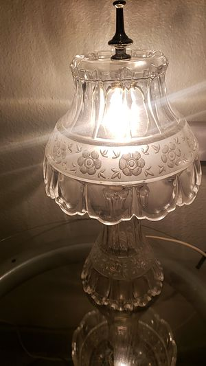 2 antique crystal lamps for Sale in Clackamas, OR