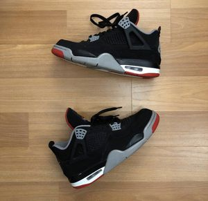 AIR JORDAN BRED 4 2018 RETRO SIZE 8.5 for Sale in Queens, NY