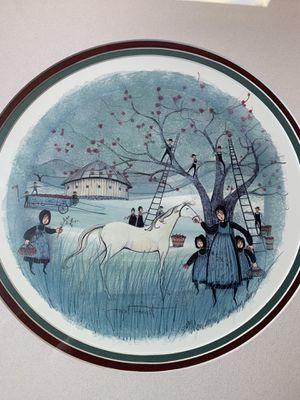 Joyful Harvest ~ P.BuckleyMoss~Sold Out Print for Sale in Catawba, VA