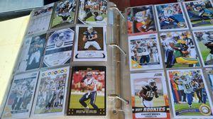 Lot of ten sports cards binders football baseball basketball $15 each for Sale in Clovis, CA