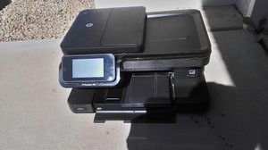 HP Photosmart 7510 print eFax scan copy web -wireless color photo printer- for Sale in Peoria, AZ