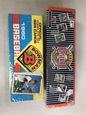 Baseball card complete sets for Sale in Washington, DC