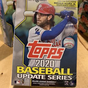 2020 Topps Baseball Cards Update Series - Blaster Box 🔥🔥 for Sale in San Diego, CA
