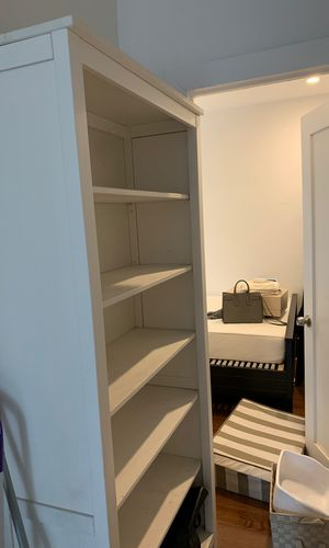 White IKEA Bookcase for Sale in New York, NY