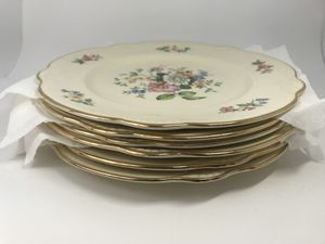 Homer Laughlin Vintage Antique Full China Set (6 Settings + Serving Pcs) - Virginia Rose Pattern for Sale in San Diego, CA