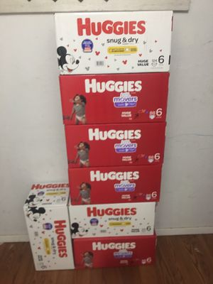 Huggies size 6 for Sale in Arlington, TX