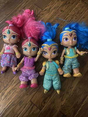 Shimmer and shine dolls for Sale in Winter Haven, FL