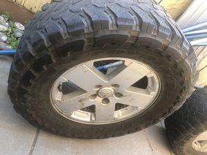 """18"""" Jeep wheels for Sale in Modesto, CA"""