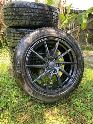 Brand new rims with tires. for Sale in Apopka, FL