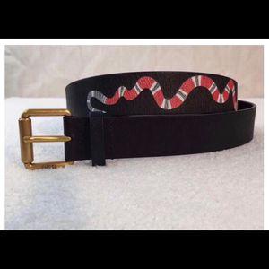 Gucci Black Leather Belt for Sale in Murfreesboro, TN