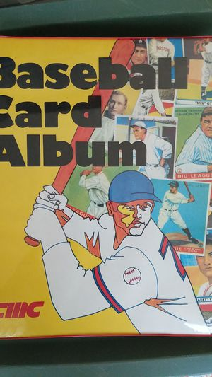 Baseball Card collector album / binder including (25) 9 pocket pages for Sale in Maple Valley, WA
