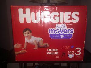 Huggies little movers size #3!! for Sale in Jonesboro, GA