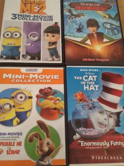 Kids DVD lot minions , dr suess, dragons Smoke free clean home for Sale in Huttonsville,  WV