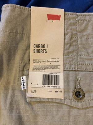 Levi Cargo Shorts for Sale in Detroit, MI