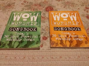 To worship song books perfect condition $5 for both for Sale in Fresno, CA
