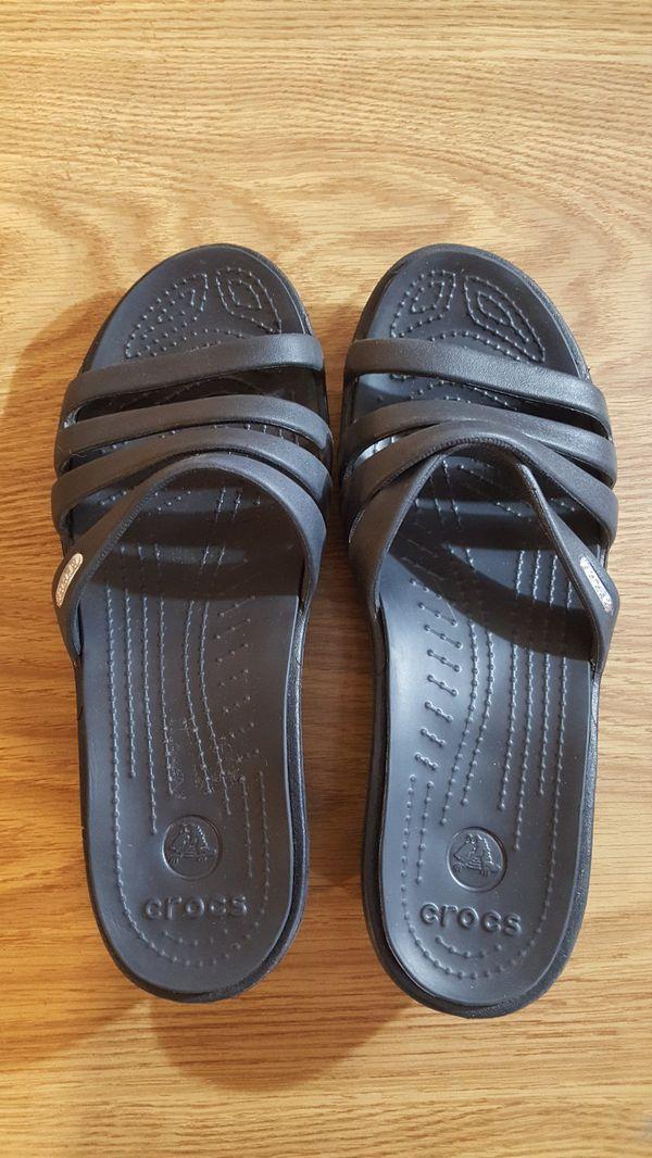 Crocs Sandals Size 9