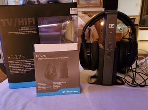 Sennheiser RS175 Digital Wireless Headphones w/all accessories Excellent Condition. Sells on Amazon for $279.95. Asking $175 for Sale in Chandler, AZ