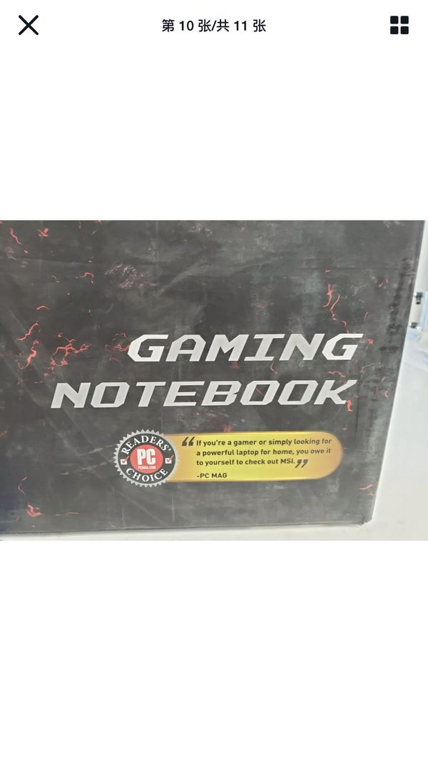Gaming Laptop Msi Gl72MX 17.3 I7 16G Gtx1050
