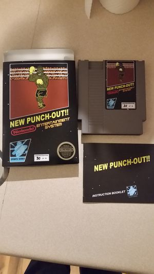 New Punch out Limited Edition Repo for Sale in Columbus, OH