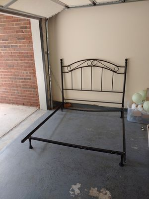 Queen Bed Frame and Head Board (obo) for Sale in Duluth, GA